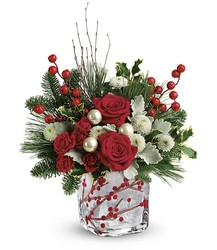 Teleflora's Winterberry Kisses Bouquet from Gilmore's Flower Shop in East Providence, RI