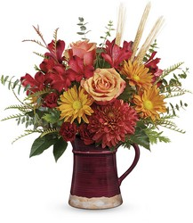 Teleflora's Fields Of Fall Bouquet from Gilmore's Flower Shop in East Providence, RI