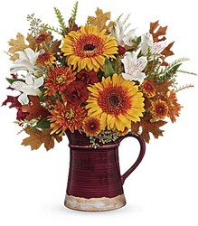 Teleflora's Blooming Fall Bouquet from Gilmore's Flower Shop in East Providence, RI
