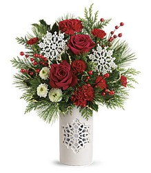 Teleflora's Flurry Of Elegance Bouquet from Gilmore's Flower Shop in East Providence, RI