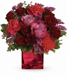 Teleflora's Ruby Rapture Bouquet from Gilmore's Flower Shop in East Providence, RI