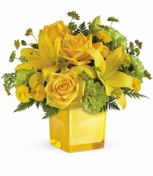 Teleflora's Sunny Mood Bouquet from Gilmore's Flower Shop in East Providence, RI