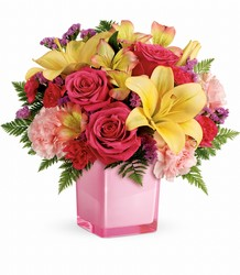 Teleflora's Pop Of Fun Bouquet from Gilmore's Flower Shop in East Providence, RI