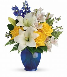 Teleflora's Oceanside Garden Bouquet from Gilmore's Flower Shop in East Providence, RI