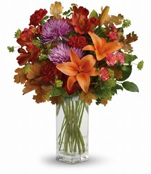 Teleflora's Fall Brights Bouquet from Gilmore's Flower Shop in East Providence, RI