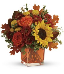 Teleflora's Hello Autumn Bouquet from Gilmore's Flower Shop in East Providence, RI